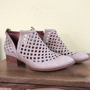 Jeffery Campbell Taggart cut out nude booties